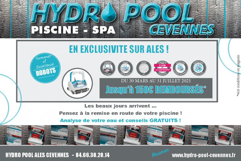 Promo robots piscines