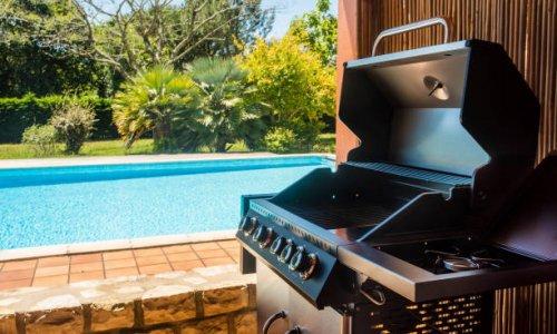 Barbecue + piscine